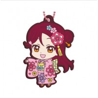 01-23379 Bandai  School Idol Project Love Live! Sunshine!! Capsule Rubber Mascot Vol. 8 300y - Riko Sakurauchi