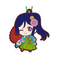 01-23379 Bandai  School Idol Project Love Live! Sunshine!! Capsule Rubber Mascot Vol. 8 300y - Kanan Matsuura