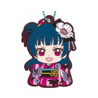 01-23379 Bandai  School Idol Project Love Live! Sunshine!! Capsule Rubber Mascot Vol. 8 300y - Yoshiko Tsushima