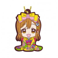 01-23379 Bandai  School Idol Project Love Live! Sunshine!! Capsule Rubber Mascot Vol. 8 300y - Hanamaru Kunikida