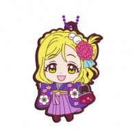 01-23379 Bandai  School Idol Project Love Live! Sunshine!! Capsule Rubber Mascot Vol. 8 300y - Mari Ohara