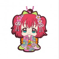 01-23379 Bandai  School Idol Project Love Live! Sunshine!! Capsule Rubber Mascot Vol. 8 300y - Ruby Kurosawa