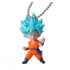 01-23467 Bandai  Dragon Ball Super Ultimate Deformed Mascot (UDM) V Jump Special 04 200y - SSGSS Super Saiyan God Goku