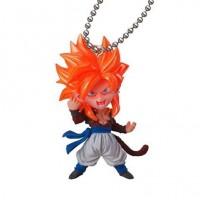 01-23467 Bandai  Dragon Ball Super Ultimate Deformed Mascot (UDM) V Jump Special 04 200y - Super Saiyan 4 Gogeta