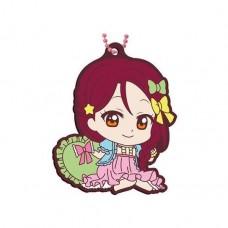 01-26913 School Idol Project Love Live! Sunshine!! Capsule Rubber Mascot 10 300y - Riko Sakurauchi