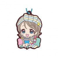 01-26913 School Idol Project Love Live! Sunshine!! Capsule Rubber Mascot 10 300y - You Watanabe