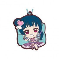 01-26913 School Idol Project Love Live! Sunshine!! Capsule Rubber Mascot 10 300y - Yoshiko Tsushima