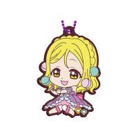 01-26913 School Idol Project Love Live! Sunshine!! Capsule Rubber Mascot 10 300y - Mari Ohara