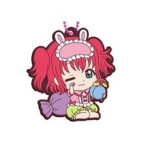 01-26913 School Idol Project Love Live! Sunshine!! Capsule Rubber Mascot 10 300y - Ruby Kurosawa