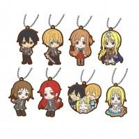 01-26915 Sword Art Online SAO  Alicization Capsule Rubber Mascot Vol. 2 300y - Set of 8