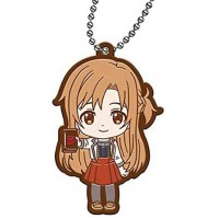 01-26915 Sword Art Online SAO  Alicization Capsule Rubber Mascot Vol. 2 300y - Asuna