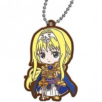 01-26915 Sword Art Online SAO  Alicization Capsule Rubber Mascot Vol. 2 300y - Alice Schuberg