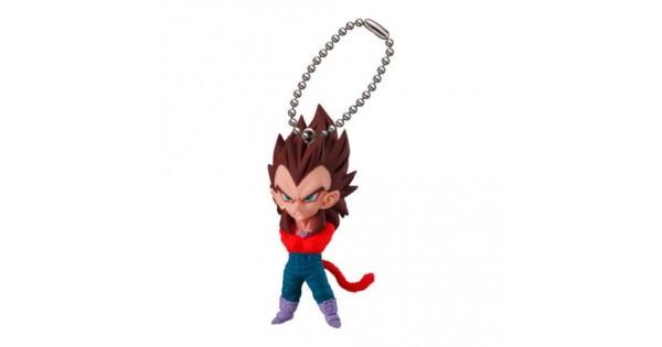 SS4 Gogeta Dragon Ball Gashapon Keychain UDM Special 4