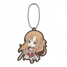01-29193 Sword Art Online SAO Capsule Rubber Mascot 01 300y - Asuna (Aincrad)