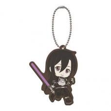 01-29193 Sword Art Online SAO Capsule Rubber Mascot 01 300y - Kirito (Phantom Bullet)
