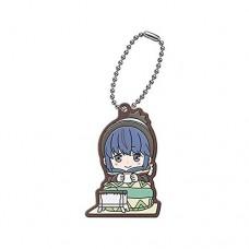 01-29485 Yuru Camp Capsule Rubber Mascot 300y - Rin Shima