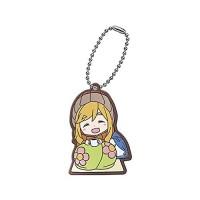 01-29485 Yuru Camp Capsule Rubber Mascot 300y - Aoi Inuyama