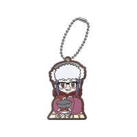 01-29485 Yuru Camp Capsule Rubber Mascot 300y - Chiaki Oogaki