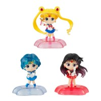01-34615 Bishojo Senshi Pretty Soldier Sailor Moon Twinkle Statue 500y - Set of 3