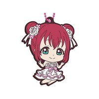 01-37701 Love Live! Sunshine !! School Idol Project Thank you Frriends!! Capsule Rubber Mascot Vol. 15 300y - Ruby Kurosawa