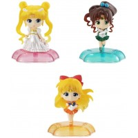 01-40475 Bishojo Senshi Pretty Soldier Sailor Moon Twinkle Statue Pt 2 500y - Set of 3