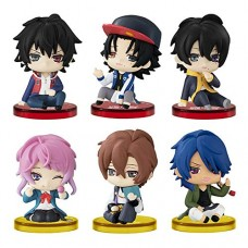 01-40549 Hypnosis Mic Division Rap Battle Suwarasetai Sitting  Figure Collection (Ceasefire Again!) 400y - Set of 6