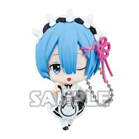 01-35585 Re:Zero Starting Life in a Different World Capsule Collection Rem Figure Mascot 300y - Rem Winking