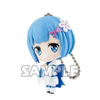 01-35585 Re:Zero Starting Life in a Different World Capsule Collection Rem Figure Mascot 300y - Rem Greeting