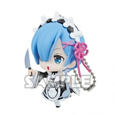 01-35585 Re:Zero Starting Life in a Different World Capsule Collection Rem Figure Mascot 300y - Rem Knife Vers