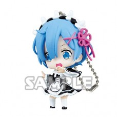 01-35585 Re:Zero Starting Life in a Different World Capsule Collection Rem Figure Mascot 300y - Rem Surprised Ver