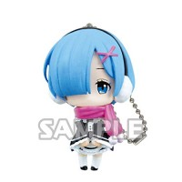 01-35585 Re:Zero Starting Life in a Different World Capsule Collection Rem Figure Mascot 300y - Rem Scarf Ver