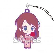 01-36196 Zombie Land Saga Capsule Rubber Mascot Strap Vol. 2 300y - Sakura Minamoto