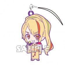 01-36196 Zombie Land Saga Capsule Rubber Mascot Strap Vol. 2 300y - Saki Nikaido
