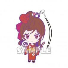 01-36196 Zombie Land Saga Capsule Rubber Mascot Strap Vol. 2 300y - Yugiri