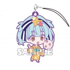 01-36196 Zombie Land Saga Capsule Rubber Mascot Strap Vol. 2 300y - Lily Hoshikawa