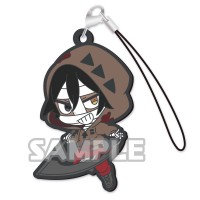 01-36884 Angels of Death Capsule Rubber Mascot Strap  300y - Zack