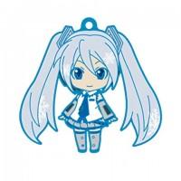01-95337 Vocaloid Hatsune Miku Snow Miku Nendoroid Plus Capsule Rubber Mascot Pt 01 300y - Snow Miku