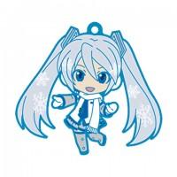 01-95337 Vocaloid Hatsune Miku Snow Miku Nendoroid Plus Capsule Rubber Mascot Pt 01 300y - Fluffy Coat Version