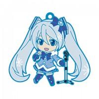 01-95337 Vocaloid Hatsune Miku Snow Miku Nendoroid Plus Capsule Rubber Mascot Pt 01 300y - Fun Snow Play Edition
