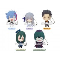 01-71095 RE:ZERO  Life in a Different World from Zero Figure Collection Vol.2  Mini Figure Mascot / Keychain 300y - Set of 5