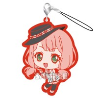 01-71799 Bang Dream! Girls Band Party! Capsule Rubber Mascot Strap Afterglow Ver. 300y - Uehara Himari