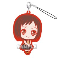 01-71799 Bang Dream! Girls Band Party! Capsule Rubber Mascot Strap Afterglow Ver. 300y - Hazawa Tsugumi