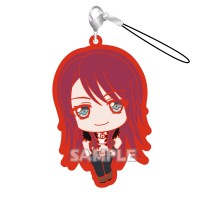 01-71799 Bang Dream! Girls Band Party! Capsule Rubber Mascot Strap Afterglow Ver. 300y - Udagawa Tomoe