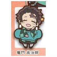 01-71166 Demon Slayer Capsule Rubber Mascot Vol. 2 300y - Tanjiro Kamado