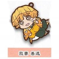 01-71166 Demon Slayer Capsule Rubber Mascot Vol. 2 300y - Zenitsu Agatsuma