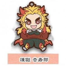 01-71166 Demon Slayer Capsule Rubber Mascot Vol. 2 300y - Kyojuro Rengoku
