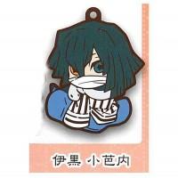 01-71166 Demon Slayer Capsule Rubber Mascot Vol. 2 300y - Obanai Iguro