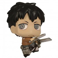01-81582 Attack on Titan Chimi Chara Mini Figure Mascot Part 3 200y - Bertolt Hoover