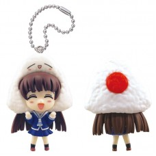 01-83145 Fruits Basket Kigurumi Costumed Mini Figure Mascot Key Chain 300y - Tohru Honda