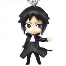 01-83431 Takara TOMY A.R.T.S Bungo Stray Dogs Deformed Mini Mascot / Keychain 300y - Akutagawa Ryuunosuke